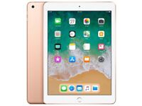 Apple Ipad (2018) 128gb Wi-Fi 9.7in Gold Brand New Unsealed RRP409