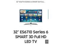 "SAMSUNG TV 32"" ES6710 Series 6 SMART 3D Full HD LED TV (UE32ES6710U)"