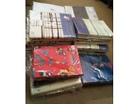 Large Job Lot 26 x Curtains & Linens Brand New In Pack Home Decor Living / Bedroom Quality Curtains
