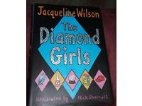 "Jacqueline Wilson ""The Diamond Girls"" Book"