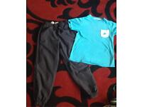 Boys Adidas bottoms & Nike top age 7 years