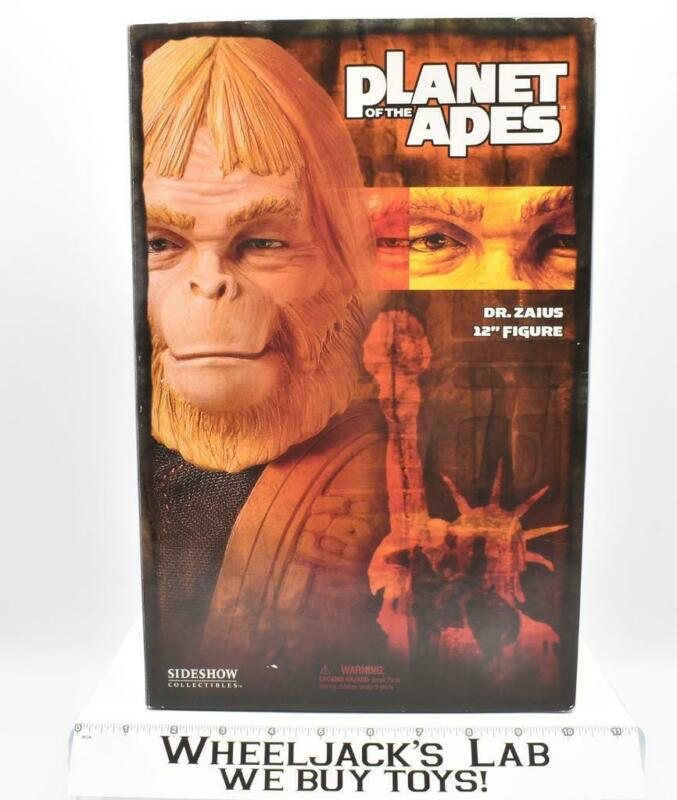 """Dr. Zaius Planet of the Apes Sideshow 12"""" Figure MISB"""
