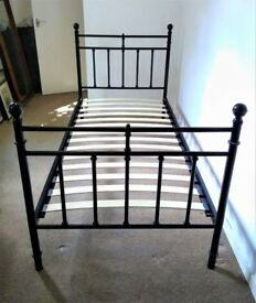 period-steel-framed-single bed
