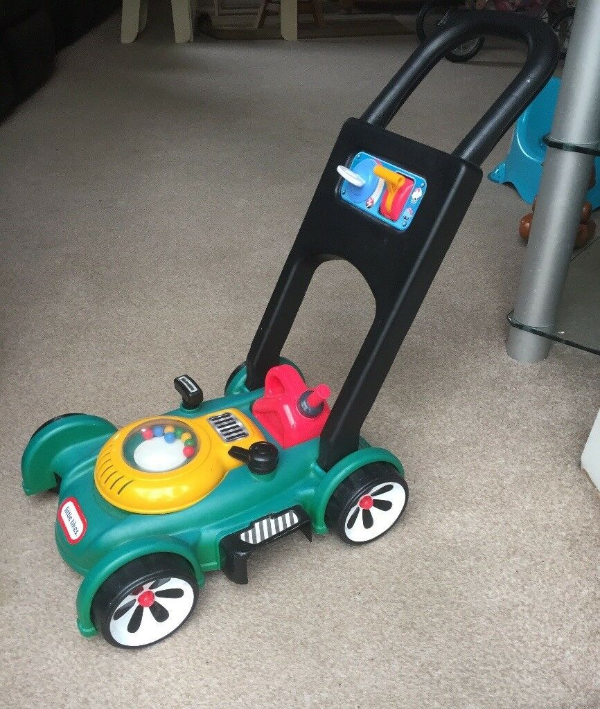 Little Tikes Gas n Go Lawnmower Toddler Pre School