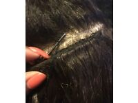 Sewn in Weave Hair Extensions Excellently Done For Caucasian Hair from £25