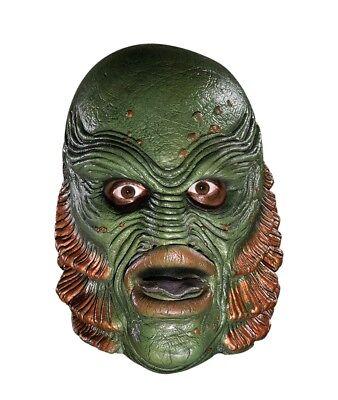 Adult Universal Studios Monsters Black Lagoon Fish Sea Creature Costume Mask](Sea Monster Halloween Costumes)