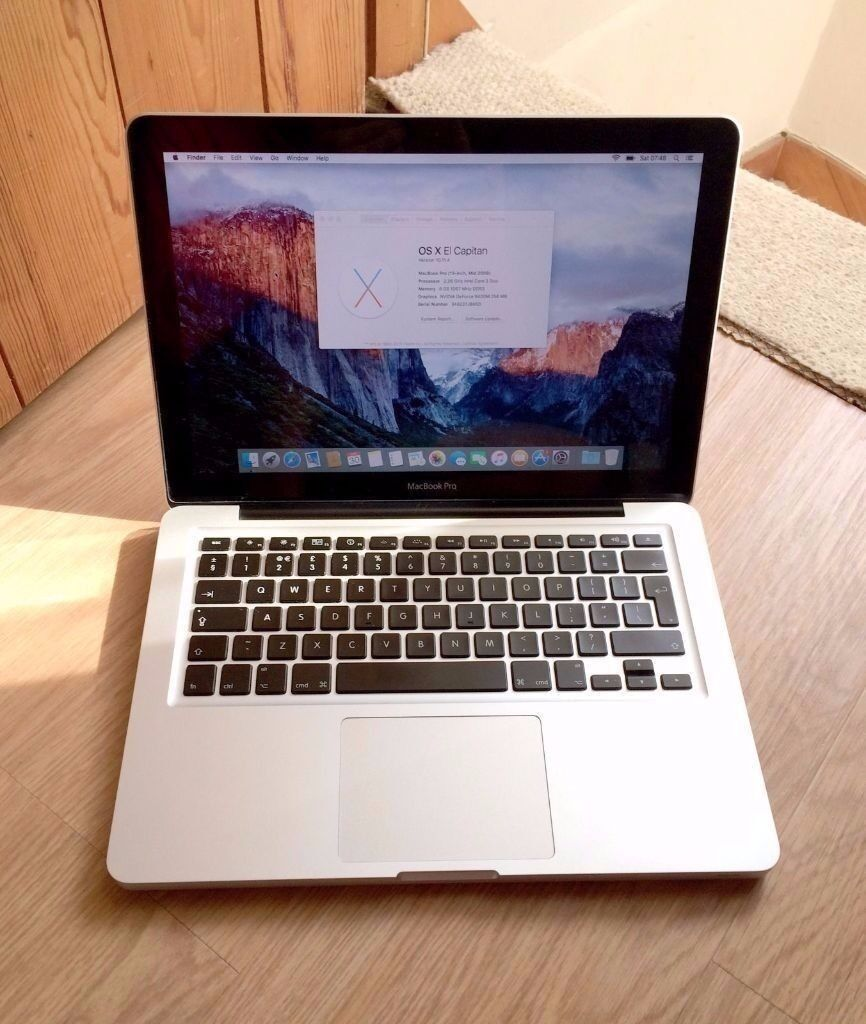 "Apple Macbook Pro 13..3"" core i5 12gb ram 640gb hddin Whitechapel, LondonGumtree - Apple Macbook Pro 13.3"" Screen intel core i5 12gb ram 640gb ram mac office 2016 Adobe photoshop adobe premier Logic pro Cinema 4d final cut pro charger Excellent working order Please see my other mac"