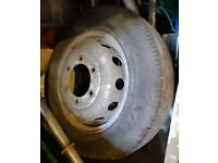 Transit Van Pick Up Spare Wheel