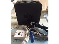 Sky Hub/Wireless Router SR102 mains ADSL ethernet microfilter