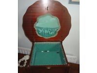 Vintage Wooden Sewing Table