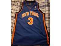 New York Basketball Vest (Number 3 Marbury)