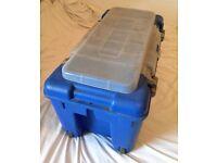 Allibert Trolley Diving Box - Blue