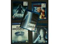 Blu Ray DVD Sci fi collection Close Encounters The Thing