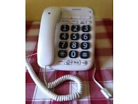 BT BIG BUTTON 200 CORDED PHONE - baragain for only £ 10