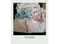 3-6 mnths baby boys bundle 1