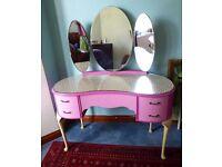Unique 1950's dressing table