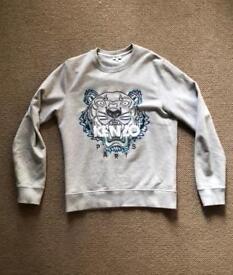 Men's Grey Kenzo Tiger Sweatshirt