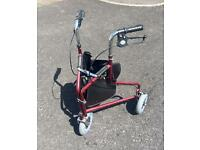 Days Tri Three Wheel Walker with Loop Lockable