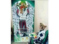 Painter, Mural painter, professional artist, tattoo artist