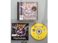 Rayman Playstation 1 Game - In Box - with Booklet