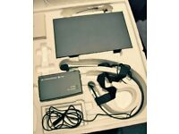 WIRELESS HEAD MICROPHONE BY SENNHEISER. E SERIES EW 152. HARDLY USED AND IN MINT CONDITION.