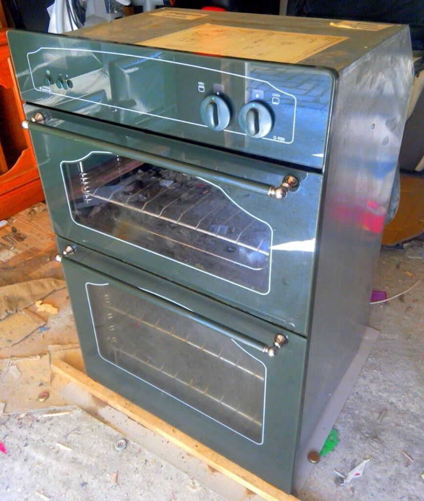 Retro Style Green Double Gas Oven With Grill G 900LOCAL FREE DELIVERYin Southampton, HampshireGumtree - Retro Style Green Double Gas Oven With Grill G 900 LOCAL FREE DELIVERY Retro Style Green Double Gas Oven With Grill G 900 Model Number G 900 Description 1x Gas Oven 1x Grill All Shelves Digital Display In Very Good Condition (Please contact me via e...