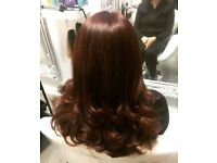 Mobile hairdresser covering all areas of Liverpool, I also fit and supply extensions
