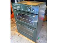 Retro Style Green Double Gas Oven With Grill G 900 - LOCAL FREE DELIVERY