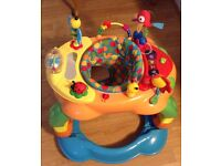 Colourful unisex baby walker