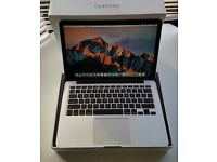 Macbook Pro Retina 13inch 2013 core i5 8GB ram 128GB hard