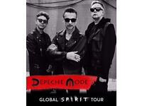 2xDépêche Mode tickets London 22.11.17 @02 section.408