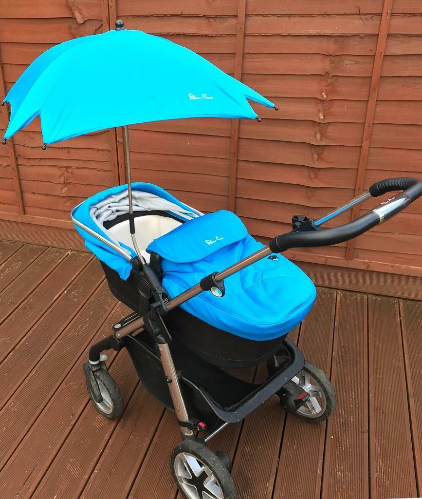 Silver Cross Pioneer Travel System. From birth-approx 4 years