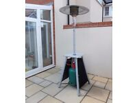 Enders Trendstyle Gas 8kw Patio Heater with Eco Plus Burner and Propane Gas Cylinder