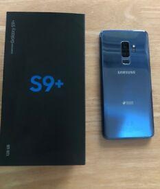 Samsung Galaxy S9 plus - 128GB - Coral Blue - Dual Sim
