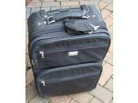 Antler leather laptop/IT equipment suitcase