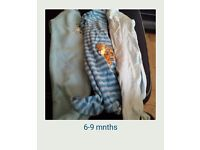 6-9 mnths baby boys bundle