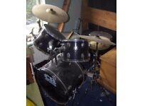 9 piece drum kit