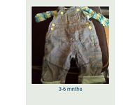 3-6 mnths baby boys clothes bundle 4
