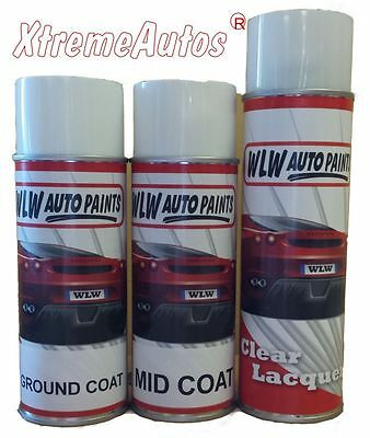 2 PACK 2K Car Body Paint BASECOAT AEROSOL TOUCH UP MIXED TO CODE READY FOR USE