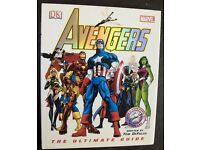 Marvel Avengers - The Ultimate Guide hardback book