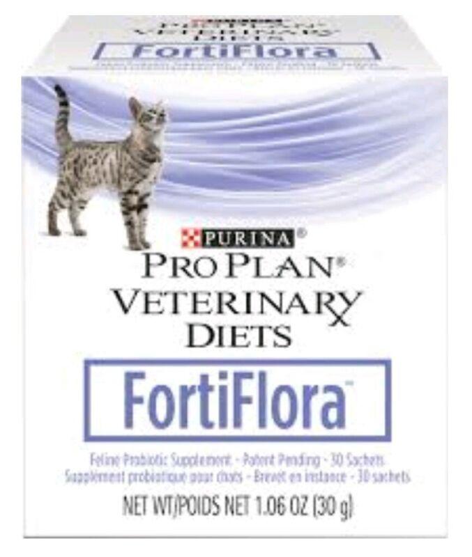 Fortiflora - Purina Proplan CAT Probiotic - (1) 30 ct Digestive Health EX 2022