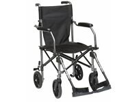 Drive Travelite folding Wheelchair in a Bag