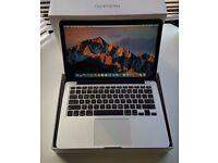 Macbook Pro Retina 13inch 2013 core i5 8GB ram 128GB hard