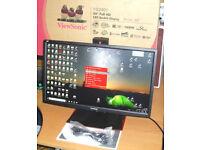 ViewSonic XG2401 24 inch eSports Gaming Monitor 144Hz 1ms FreeSync Adaptive-Sync Smart Sync