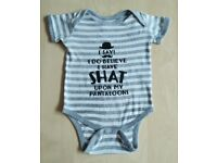 Brand New Funny Gentleman Baby Clothes 18 Months