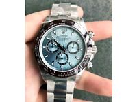 BRAND NEW ROLEX DAYTONA BLUE FACE, WITH BOX