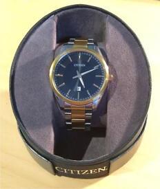 Citizen Men's Gold/ Silver Tone Quartz watch