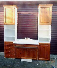 Bathroom Cabinets & Bathroom Suite Ivory/Cream,Ideal Utility etc.