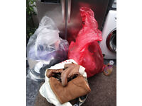 Joblot bundle of clothes and shoes ideal carboot over 100 items