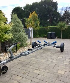 Galvanised boat trailer 5.2 m